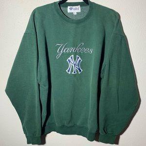 ADIDAS Mens Extra Large Yankees Crewneck Sweater